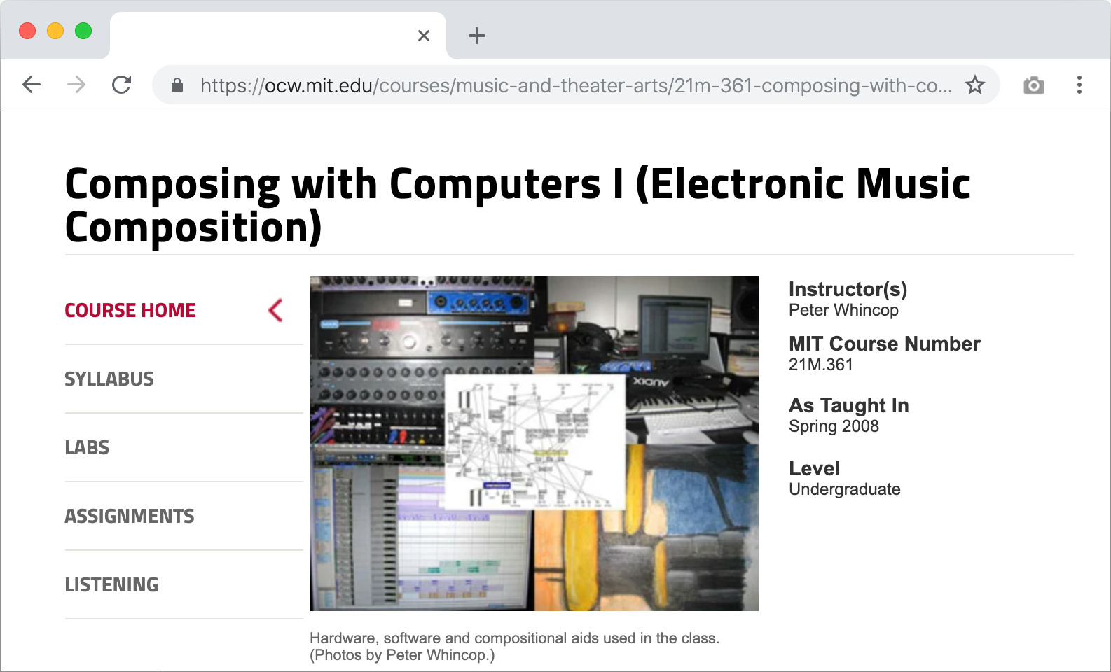 composing with computers: 21m.361