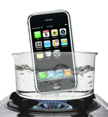 Boiled iPhone 3G