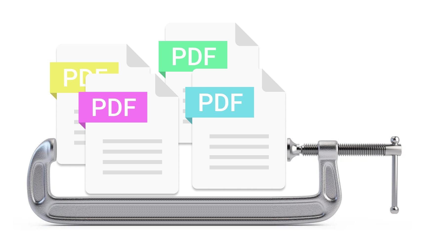 combine & compress PDFs