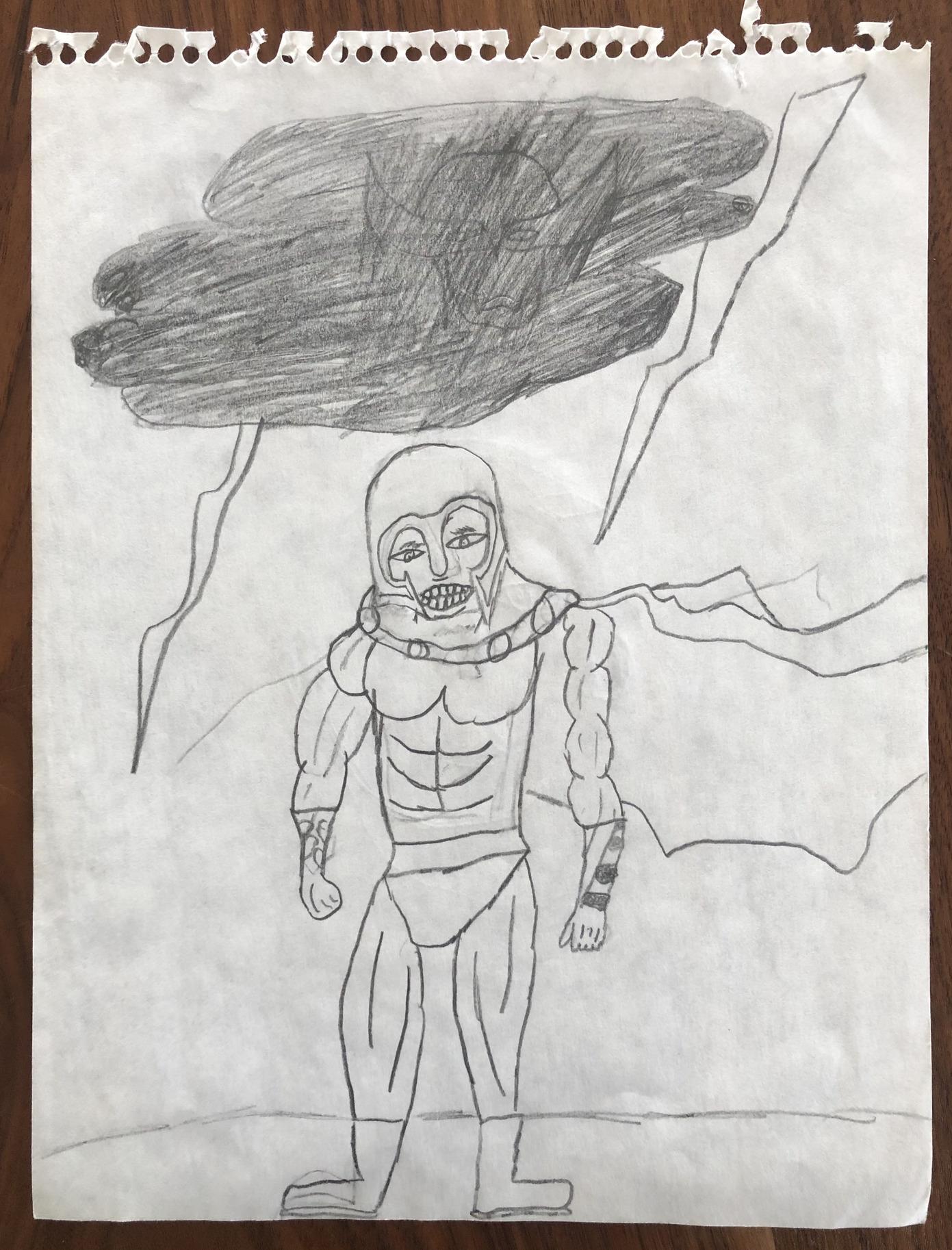 magneto kids drawing