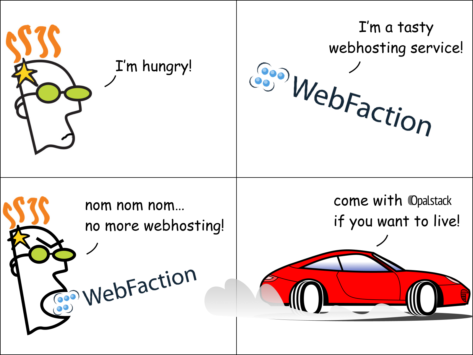 webfaction to opalstack